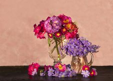 Free Bouquet Of  The Spring Flowers Stock Photography - 14016422