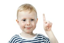 Free Little Boy Portrait Stock Photos - 14016513