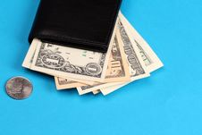 Free American Wallet Royalty Free Stock Photography - 14016567