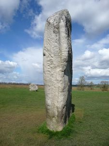 Free Avebury Standing Stones Stock Photo - 14016620