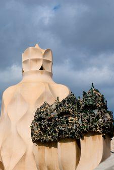Free Casa Mila, Barcelona, Spain Stock Photography - 14016852