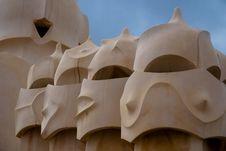 Free Casa Mila, Barcelona, Spain Stock Photos - 14016903