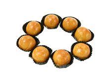 Free Round Pineapple Cake Royalty Free Stock Photos - 14016978