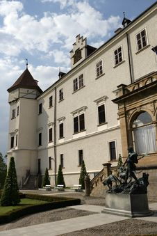 Free Plendid Konopiste Chateau Stock Photo - 14017050