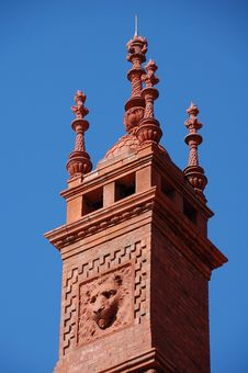 Alcazar Hotel Tower Royalty Free Stock Image