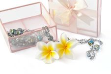 Free Gift On White Stock Image - 14017181