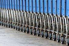 Free Shopping Carts Stock Photos - 14017443