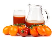 Free Tomato Sauce And Ripe Tomatoes Stock Photos - 14017883