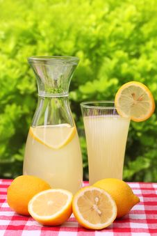 Free Fresh Lemon Drink Stock Photography - 14017912