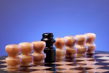 Free Marble Chess Royalty Free Stock Image - 14018636