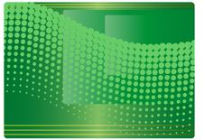 Background With Halftone Stock Photography