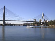 Free Anzac Bridge Stock Photo - 14019660