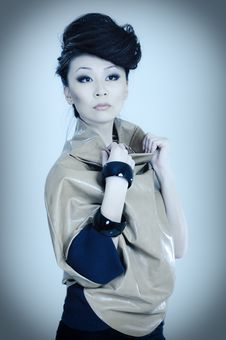 Free Fashionable Asian Royalty Free Stock Photos - 14020018