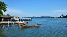 Fishermen Village At Phuket Thailand Royalty Free Stock Images
