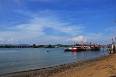 Fishermen Village At Phuket Thailand Stock Photography