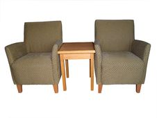 Free Armchairs With Coffee Table Royalty Free Stock Photo - 14020635