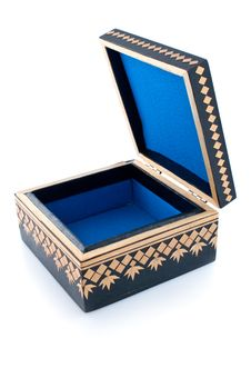 Free Casket For Storage Of Jewelry Royalty Free Stock Photo - 14020885