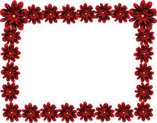 Free Floral Frame Royalty Free Stock Photo - 14020975