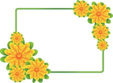 Free Floral Frame Stock Photos - 14020983