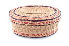 Free Nice Wicker Wooden  Basket Royalty Free Stock Images - 14020989