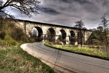 Free Old Railway Viaduct Royalty Free Stock Photography - 14021347