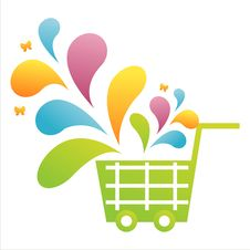 Free Colorful Basket Royalty Free Stock Images - 14021389