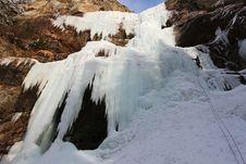 Free Icefall Royalty Free Stock Photo - 14023375