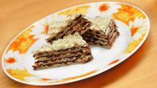 Free Sweet Waffle Cakes Stock Images - 14023534