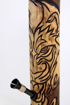 Free Bamboo Bong Tiger Stock Photos - 14023623