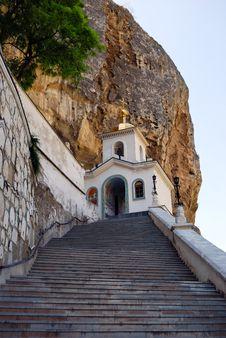 Free Svyato-Uspensky Monastery (Bakhchisarai) Royalty Free Stock Images - 14024069