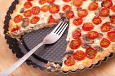 Free Tomato Quiche Stock Photography - 14024972