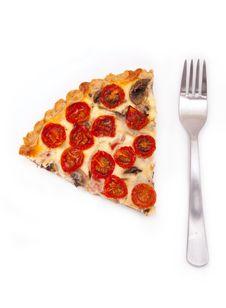 Tomato Pie Stock Image