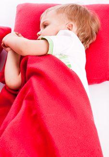 Free Little Sleeping Boy Royalty Free Stock Photo - 14025115