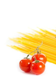 Free Tomatoes And Pasta Stock Photo - 14025330