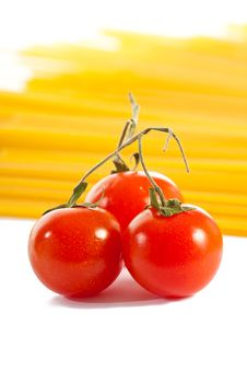Free Tomatoes And Pasta Stock Photography - 14025352