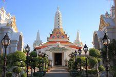 Free Pagoda,Thailand Royalty Free Stock Photo - 14025595