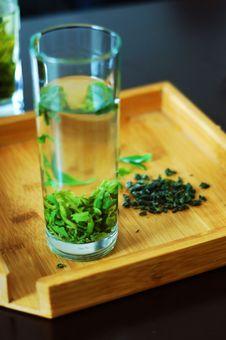 Free Green Tea Royalty Free Stock Photography - 14025637