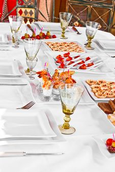 Free GOURMET BANQUET Stock Photography - 14025672