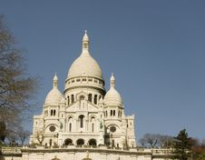 Free Sacre Coeur Royalty Free Stock Photo - 14025775