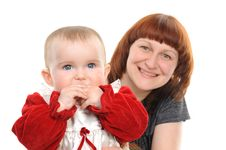 Free Happy Mother And Daughter Stock Photography - 14025912
