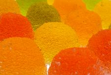 Delicious Fruit Candy Stock Photography