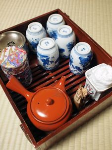 Free Japanese Style Tea Set Stock Images - 14027034