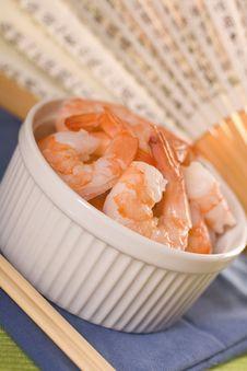 Free Fresh Shrimps. Stock Photo - 14027180