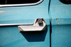 Free Old Car Door Stock Images - 14027304
