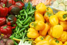 Free Close Up Of Vegetables On Market Stand Royalty Free Stock Photo - 14027675