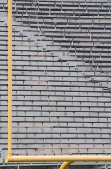 Free Goal But No Fans Royalty Free Stock Image - 14027996