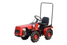 Free Red Tractor Stock Photos - 14028223
