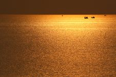 Free Sea With Sunset Stock Photography - 14029452