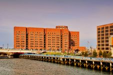 Free Moakley Courthouse Side View Stock Photo - 14029600