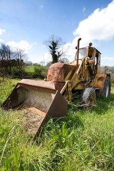 Free The Old Bulldozer Stock Photography - 14029912